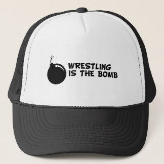レスリングは爆弾です キャップ