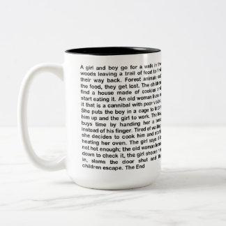 レスリーのコショウによって短い長い物語 ツートーンマグカップ
