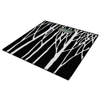 レスリーのコショウによる樺の木の森林 体重計