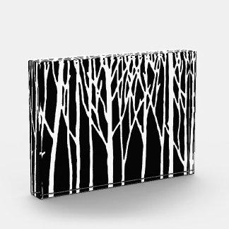 レスリーのコショウによる樺の木の森林 表彰盾