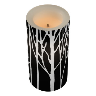 レスリーのコショウによる樺の木の森林 LEDキャンドル
