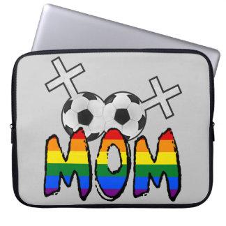 レズビアンのサッカーのお母さん ラップトップスリーブ