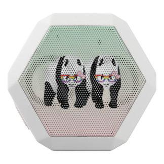 レズビアンのプライドのパンダ ホワイトBluetoothスピーカー