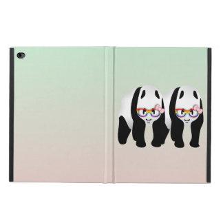 レズビアンのプライドのパンダ POWIS iPad AIR 2 ケース