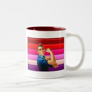 レズビアンのプライド ツートーンマグカップ
