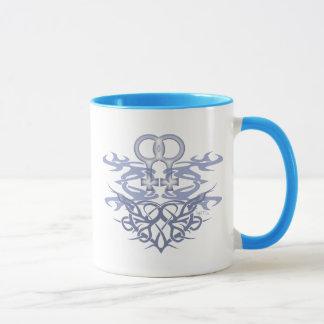 レズビアンの種族のハートのマグ マグカップ