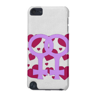 レズビアンの結婚のハート iPod TOUCH 5G ケース