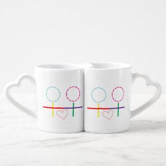 レズビアン-女の子愛 ペアカップ