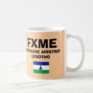 レソト- Matekane*の離着陸場コードマグ コーヒーマグカップ