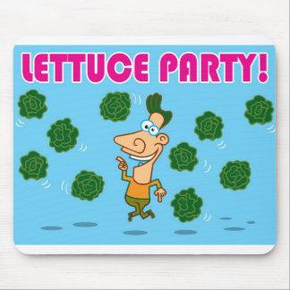 レタスのパーティー! マウスパッド