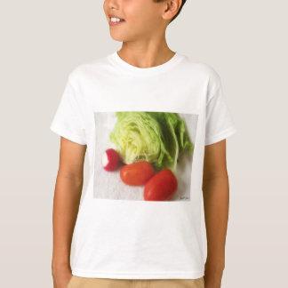 レタスのラディッシュのトマト1 Tシャツ