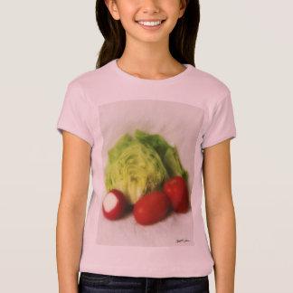 レタスのラディッシュのトマト2 Tシャツ