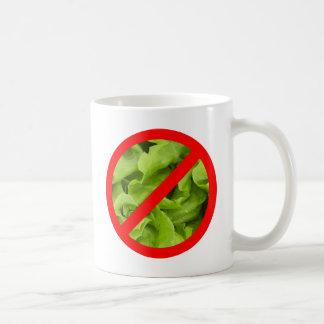 レタスの記号のマグ無し コーヒーマグカップ
