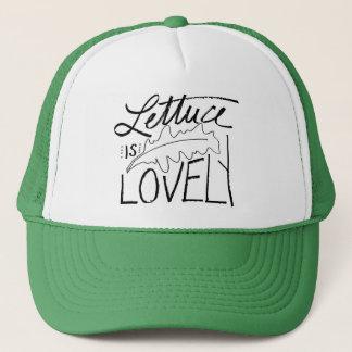 レタスは美しいトラック運転手の帽子です キャップ