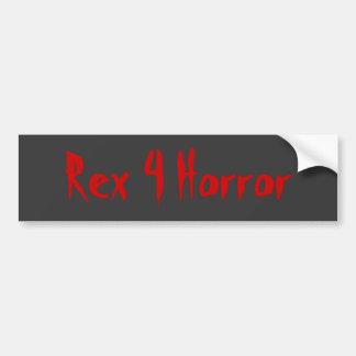 レックス4の恐怖 バンパーステッカー