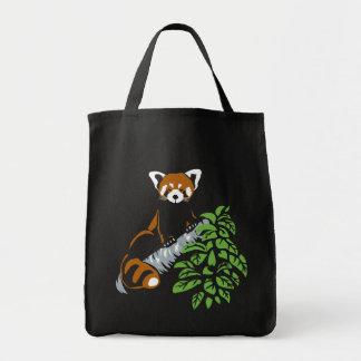 レッサーパンダのトートバック トートバッグ