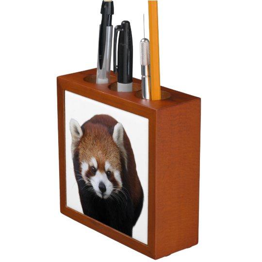 レッサーパンダのペン立て ペンスタンド
