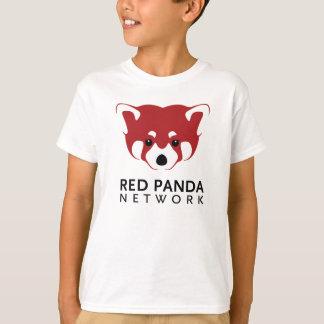 レッサーパンダのロゴのティーの子供 Tシャツ