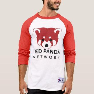 レッサーパンダの人/ユニセックスな野球T Tシャツ