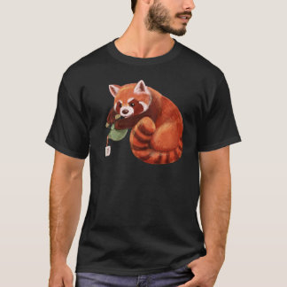 レッサーパンダの茶時間 Tシャツ