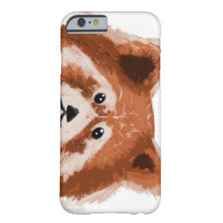レッサーパンダの電話カバー BARELY THERE iPhone 6 ケース