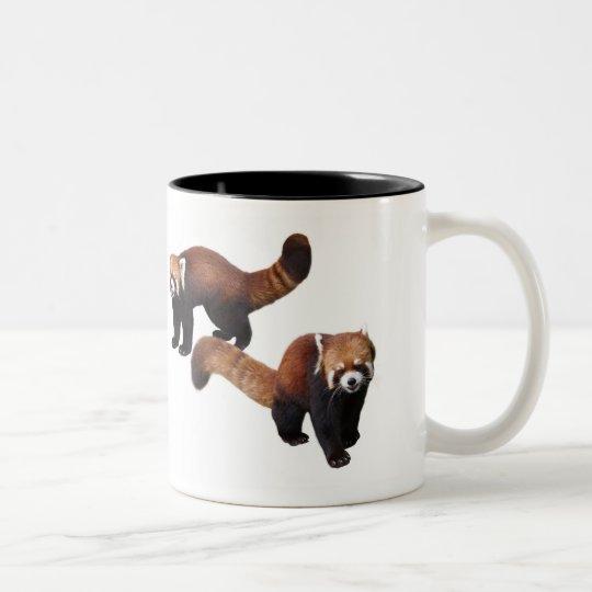 レッサーパンダ ツートーンマグカップ