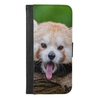 レッサーパンダ iPhone 6/6S PLUS ウォレットケース