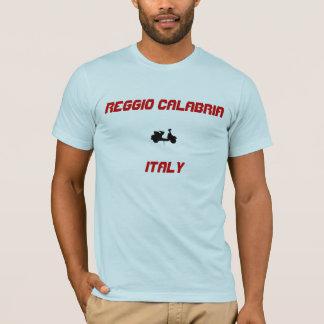 レッジョ・ディ・カラブリア、イタリアのスクーター Tシャツ