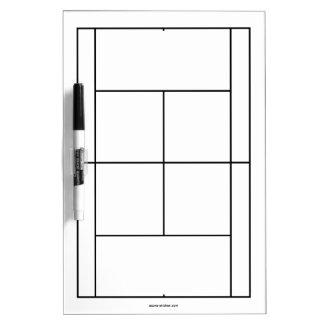 レッスンのためのテニスコート材料| Whiteboard ホワイトボード