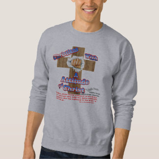 レッドネックの弟子のトレーナー/christianattitude スウェットシャツ