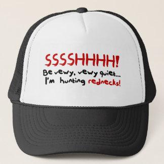 レッドネックの狩りの帽子。 Ssshhh! キャップ