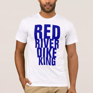 レッド川の堤防王 Tシャツ