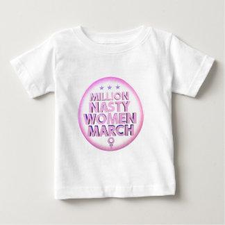 レディースのための扱いにくい女性3月はタンクトップを訂正します ベビーTシャツ