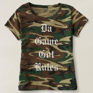 レディースカムフラージュのTシャツ Tシャツ