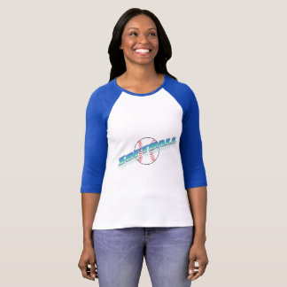 レディースソフトボールのTシャツ Tシャツ