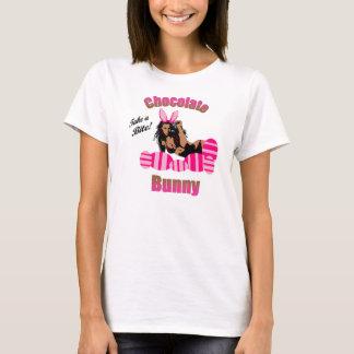 レディースチョコレートバニーのTシャツ Tシャツ