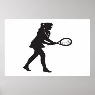 レディーステニス ポスター
