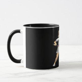 レディースバドミントン マグカップ