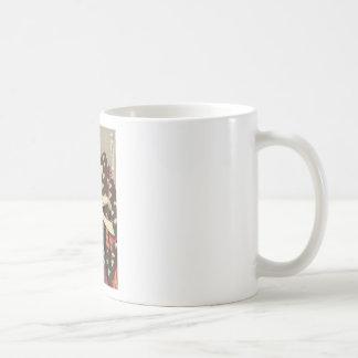 レディース理髪のUtamaro Yuyudo Ukiyo-eの芸術 コーヒーマグカップ