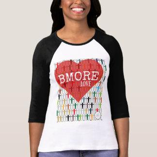 レディースBMORE愛ワイシャツ Tシャツ