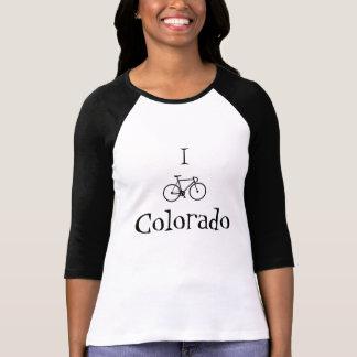 レディースIバイクのコロラド州のワイシャツ Tシャツ