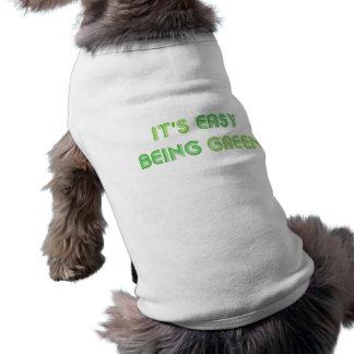 レトロそれは容易な犬のTシャツです ペット服
