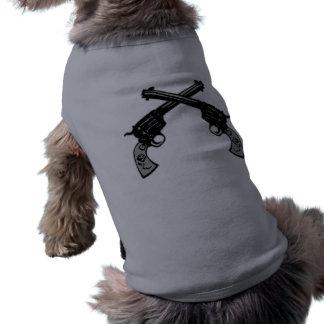 レトロによって交差させるピストル ペット服