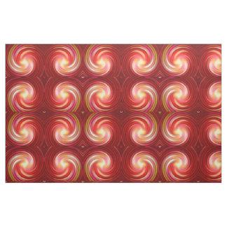 レトロによって着色されるねじれの抽象美術#7 ファブリック