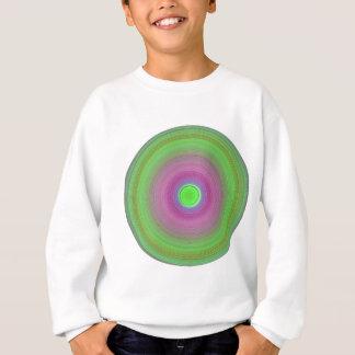 レトロによって着色されるビニール スウェットシャツ