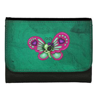 レトロのおもしろいのゾンビの蝶 ウォレット