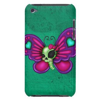 レトロのおもしろいのゾンビの蝶 Case-Mate iPod TOUCH ケース