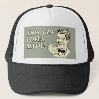 レトロのからかいのおもしろいなことわざはこの人数学を愛します キャップ