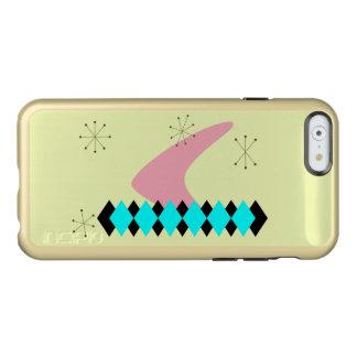 レトロのアーガイル柄のな世紀半ばのモダンのiPhone6ケース Incipio Feather Shine iPhone 6ケース