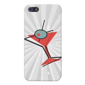 レトロのオリーブ色のマルティーニ iPhone 5 ケース